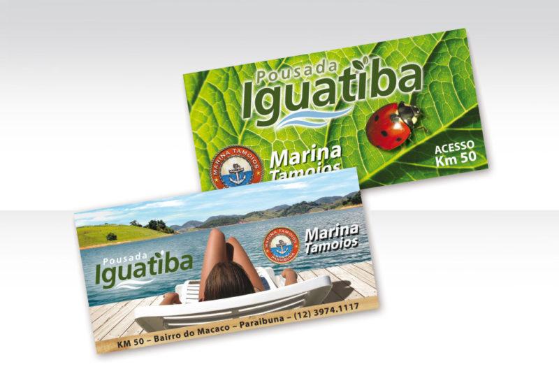 Painéis de estrada Pousada Iguatiba