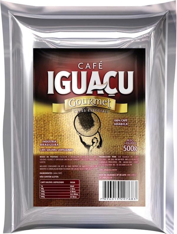 Mockup Digital 3D – Café Iguaçu