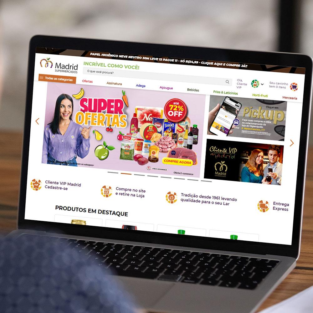 E-commerce Madrid Supermercados